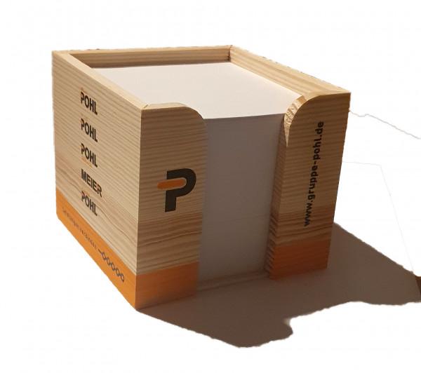 Holz Zettelbox